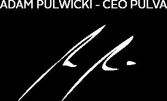 Adam Pulwicki - CEO Pulva